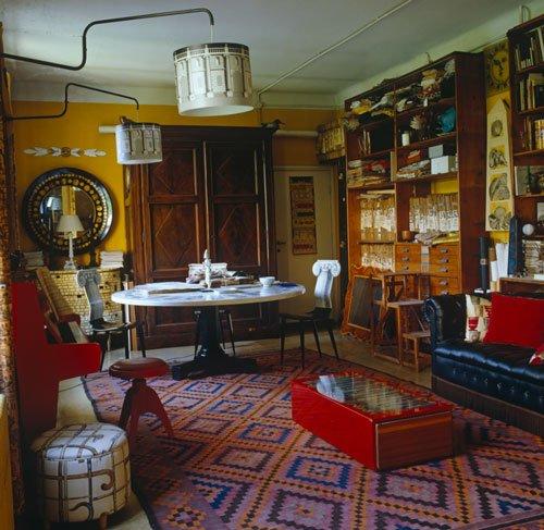 Vintage Home, Fornasetti's studio