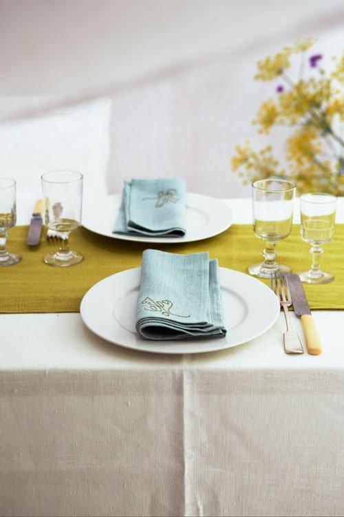table linen by Volga Linen