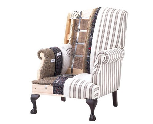 Cut-out chair - Wesley-Barrell