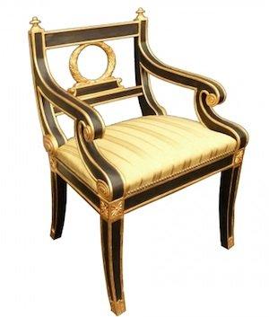 chair by English Georgian
