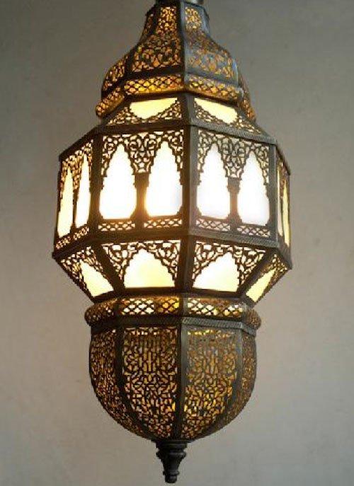 Moroccan lantern from Habibi