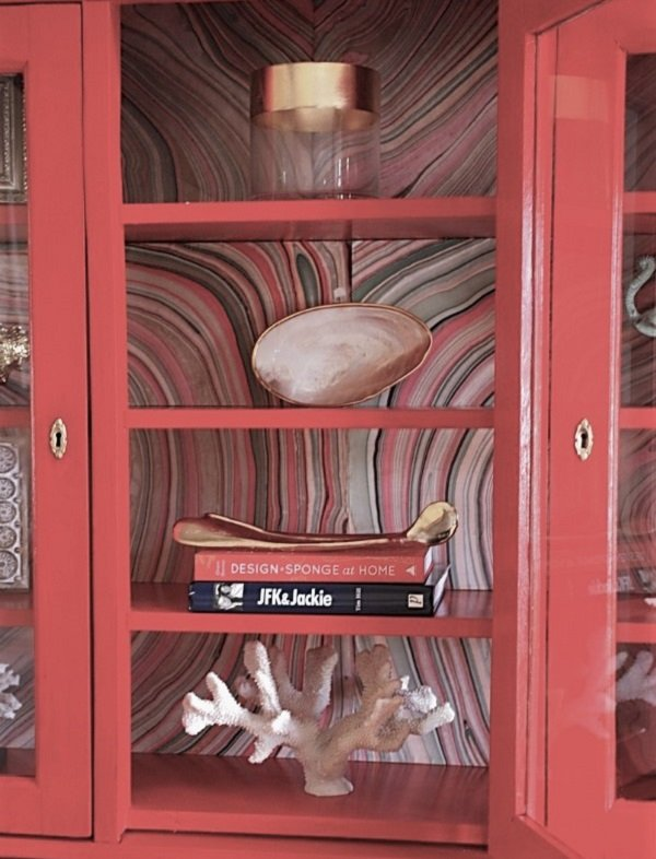Bookcases - Christmas decorating tips