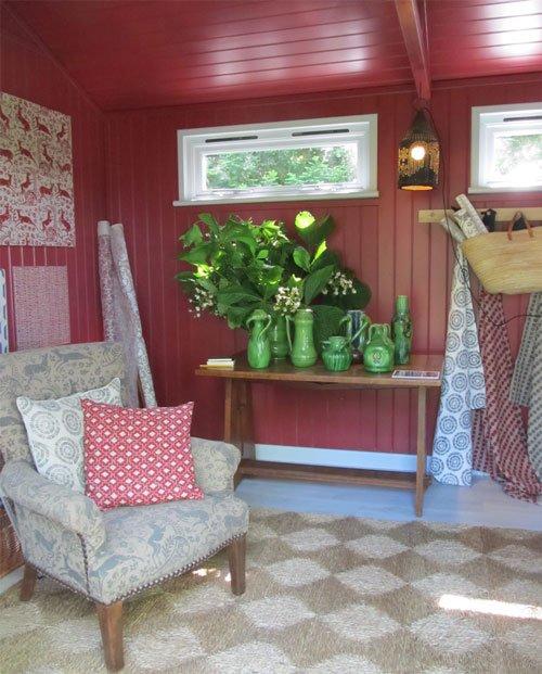 Chelsea Flower Show Artisan Retreat - Lindsay Alker (interior)