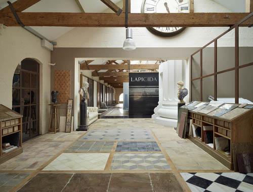 new Lapicida showroom