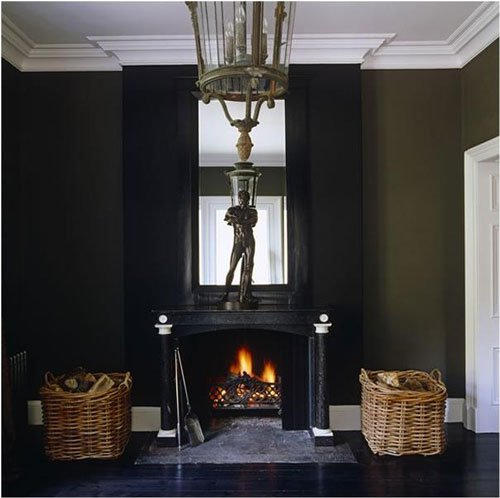 Black Fireplace from Renaissance London