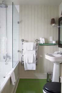 Bathroom at The George in Rye
