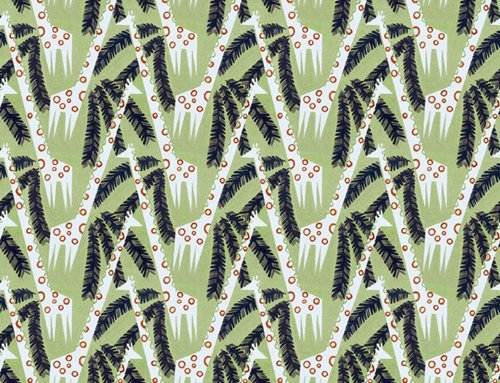 GIRAFFES wallpaper from Warner Textile Archive/WallpaperSpace