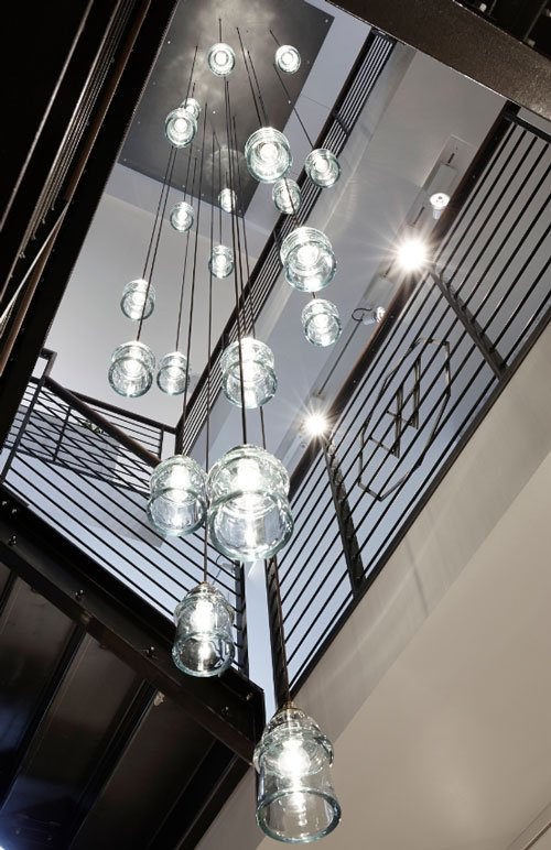 Stairwell in Waterworks' new London showroom