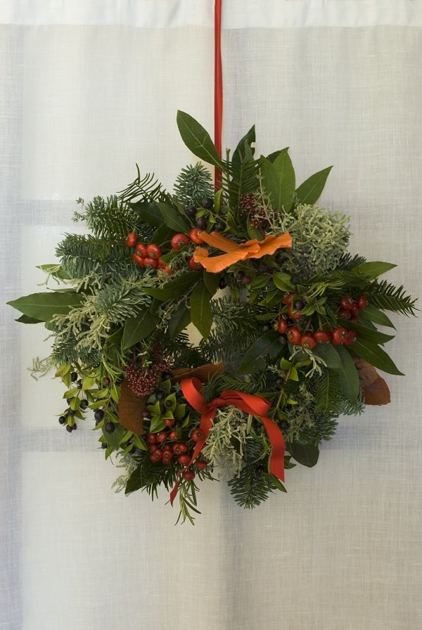 Wreaths - - Christmas decorating tips